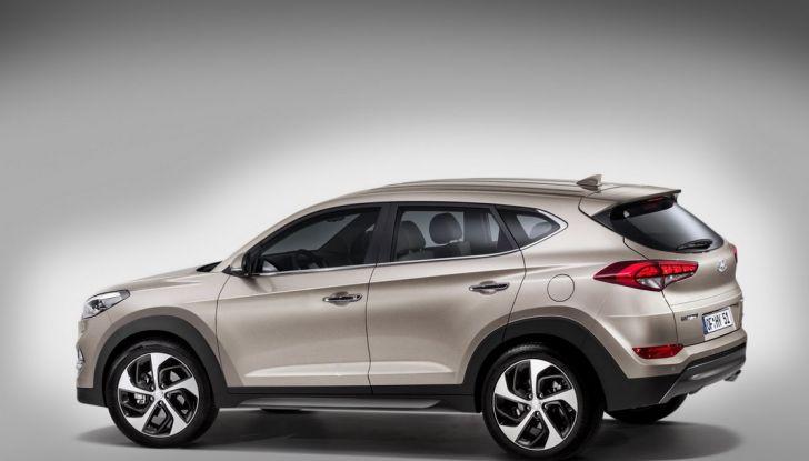 Hyundai Tucson con nuovo motore 1.7 CRDi e cambio 7DCT - Foto 2 di 10