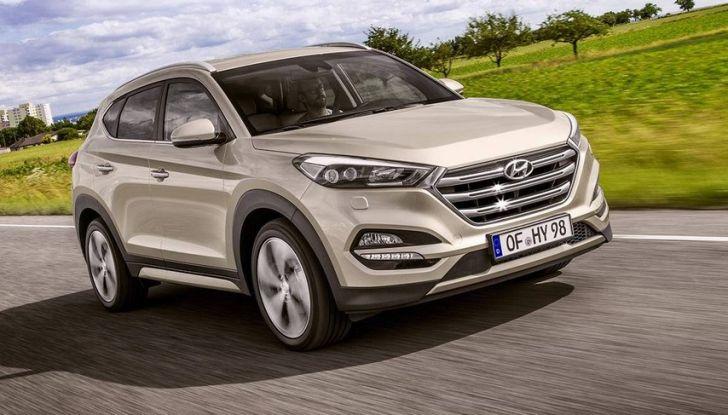 Hyundai Tucson con nuovo motore 1.7 CRDi e cambio 7DCT - Foto 1 di 10