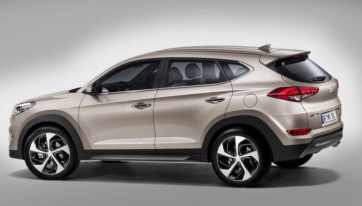 Hyundai Tucson con nuovo motore 1.7 CRDi e cambio 7DCT - Foto 5 di 10