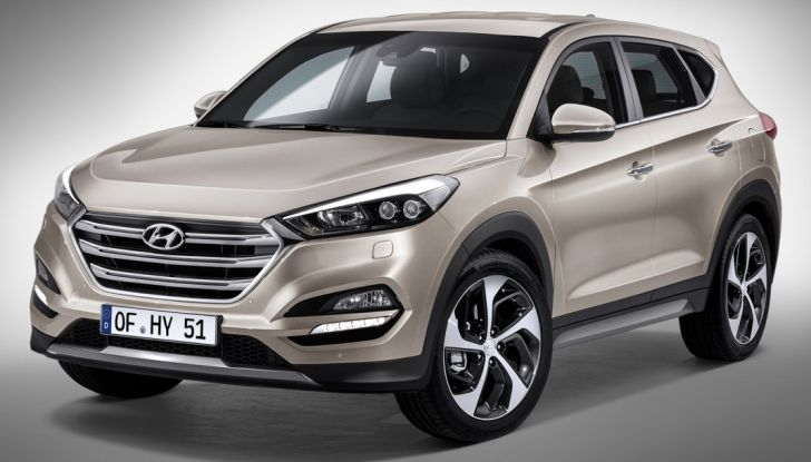 Hyundai Tucson con nuovo motore 1.7 CRDi e cambio 7DCT - Foto 4 di 10