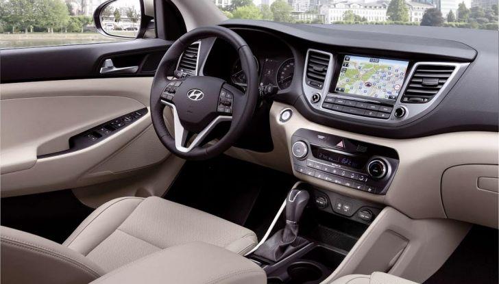 Hyundai Tucson con nuovo motore 1.7 CRDi e cambio 7DCT - Foto 3 di 10