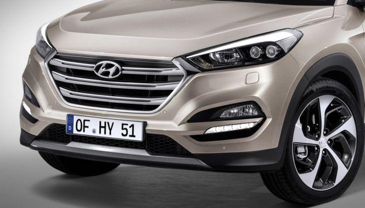 Hyundai Tucson con nuovo motore 1.7 CRDi e cambio 7DCT - Foto 6 di 10