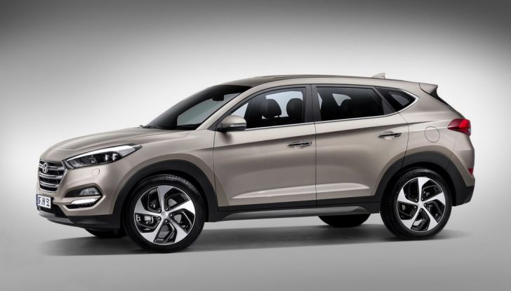 Hyundai Tucson con nuovo motore 1.7 CRDi e cambio 7DCT - Foto 9 di 10