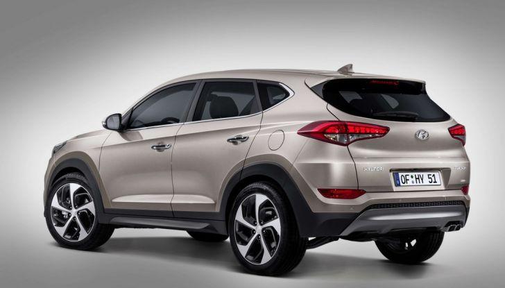 Hyundai Tucson con nuovo motore 1.7 CRDi e cambio 7DCT - Foto 10 di 10