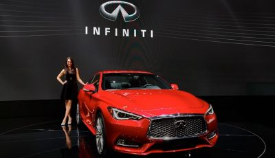 Nuova Infiniti Q60 sports coupè