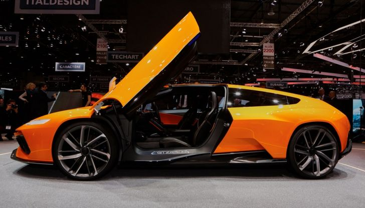 Ital Design GT Zero live ginevra 2016