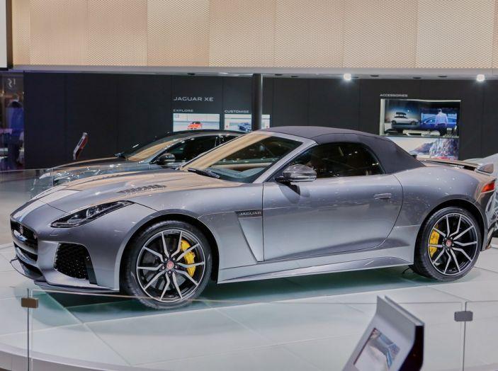Jaguar F-Type SVR ad Auto e Moto d'Epoca 2016 - Foto 4 di 19