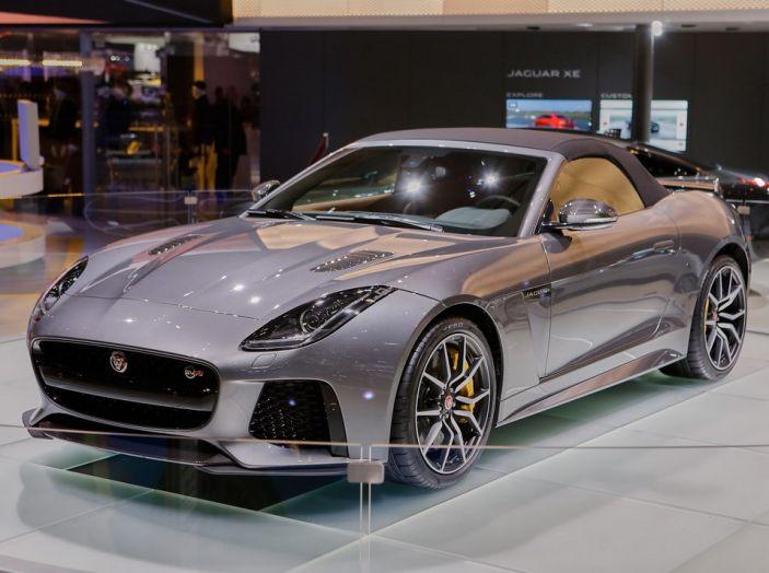 Jaguar F-Type SVR: ancora più potente