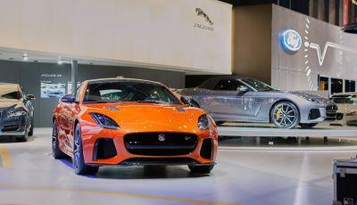 Jaguar F-Type SVR ad Auto e Moto d'Epoca 2016