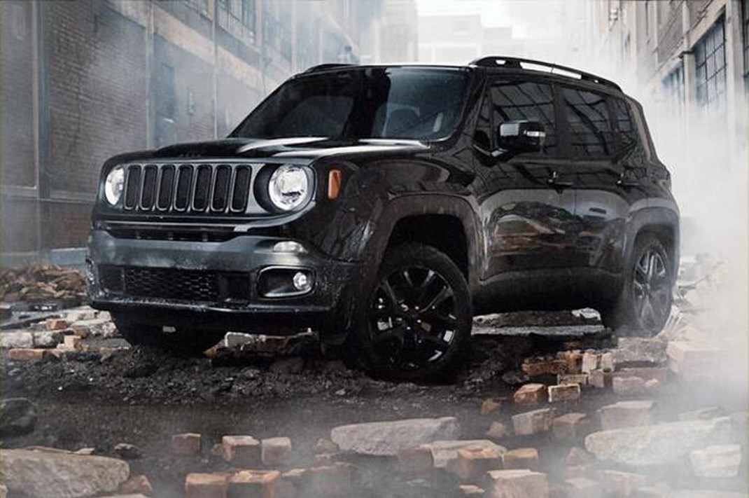 Jeep Renegade Dawn of Justice