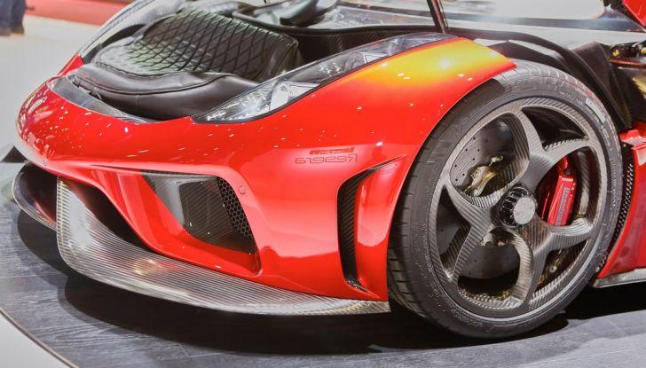 Koenigsegg Regera, sportiva estrema da 1.500 cavalli - Foto 21 di 24