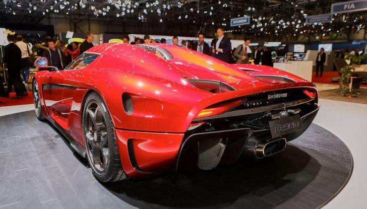 Koenigsegg Regera, sportiva estrema da 1.500 cavalli - Foto 24 di 24