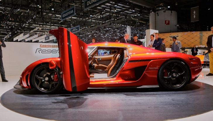 Koenigsegg Regera, sportiva estrema da 1.500 cavalli - Foto 8 di 24