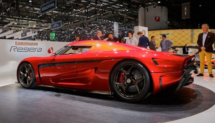 Koenigsegg Regera, sportiva estrema da 1.500 cavalli - Foto 9 di 24