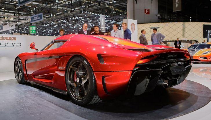 Koenigsegg Regera, sportiva estrema da 1.500 cavalli - Foto 5 di 24