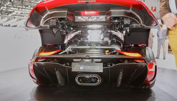 Koenigsegg Regera, sportiva estrema da 1.500 cavalli - Foto 11 di 24