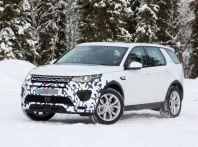 Land Rover Discovery Sport, immagini spia della nuova versione