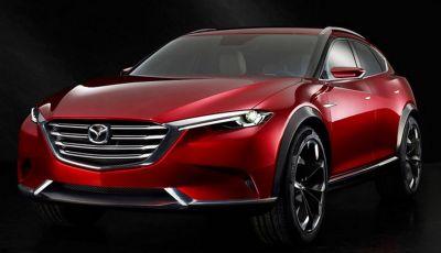 Mazda CX-4, la concept Koeru diventa realtà