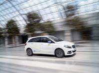 Mercedes Classe B Electric Drive: a Roma e Milano sarà a noleggio