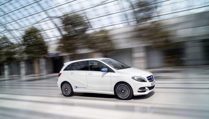 Mercedes Classe B Electric Drive: a Roma e Milano sarà a noleggio - Foto 1 di 10