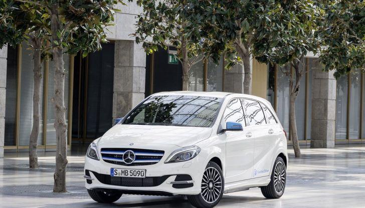 Mercedes Classe B Electric Drive: a Roma e Milano sarà a noleggio - Foto 2 di 10
