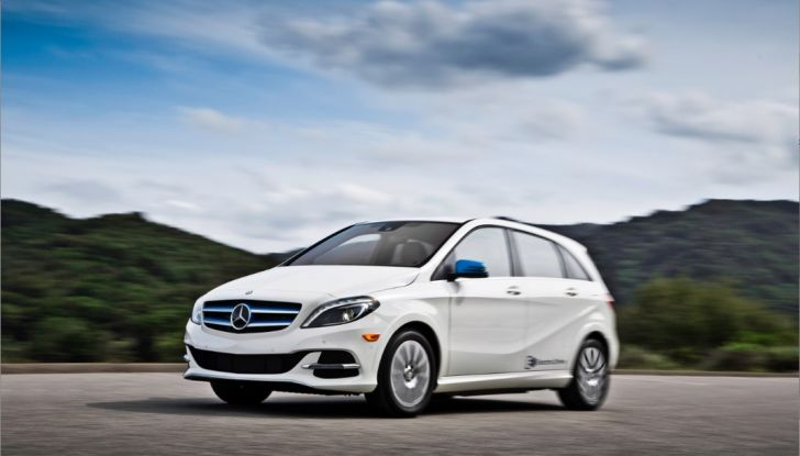 Mercedes Classe B Electric Drive: a Roma e Milano sarà a noleggio - Foto 8 di 10