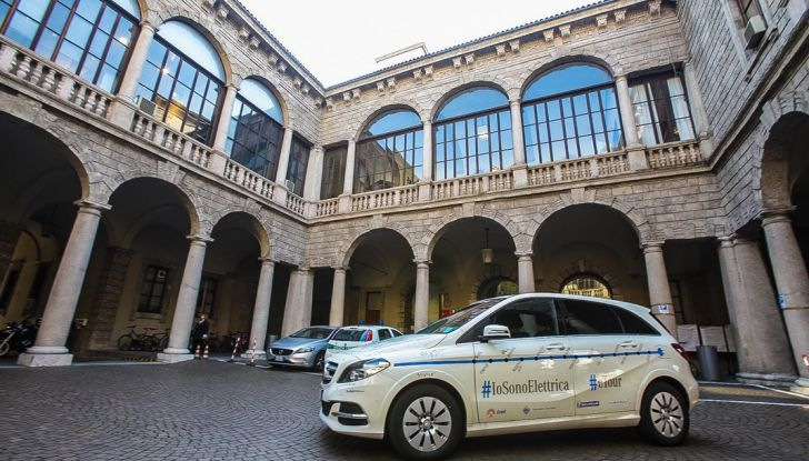 Mercedes Classe B Electric Drive: a Roma e Milano sarà a noleggio - Foto 10 di 10
