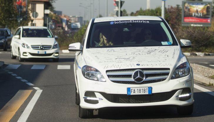 Mercedes Classe B Electric Drive: a Roma e Milano sarà a noleggio - Foto 4 di 10