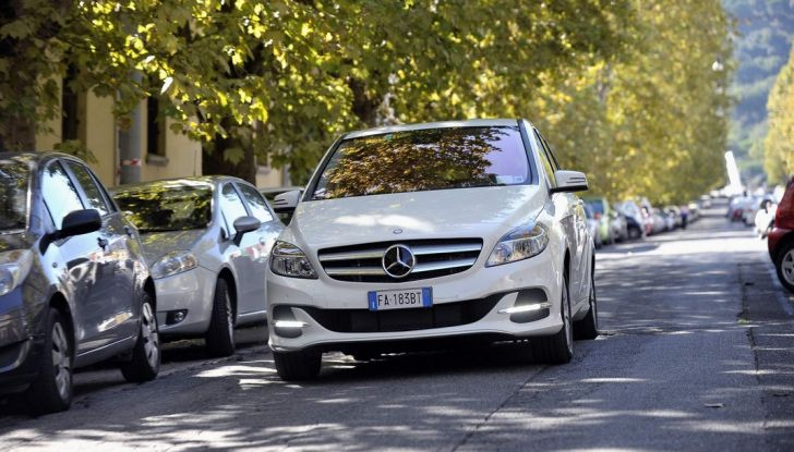 Mercedes Classe B Electric Drive: a Roma e Milano sarà a noleggio - Foto 6 di 10