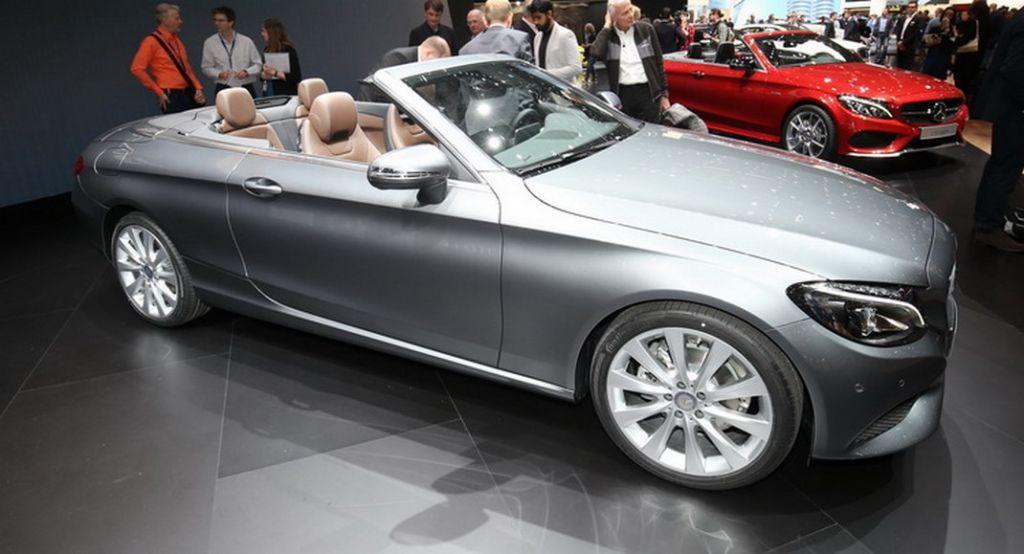 Mercedes Class C Cabrio