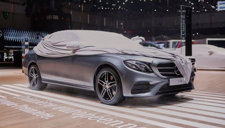 Mercedes classe E ginevra 2016