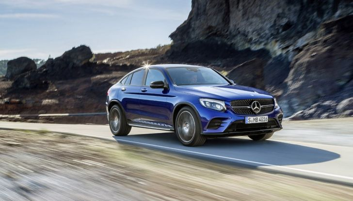 Mercedes GLC coupè debutta al salone di New York - Foto 1 di 22