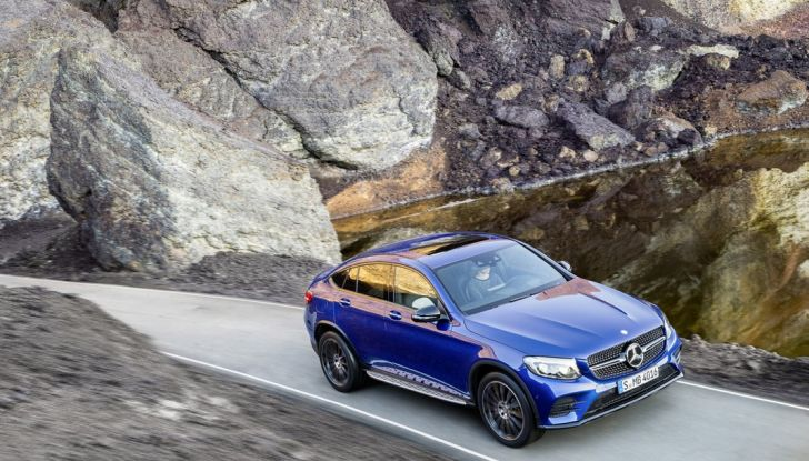 Mercedes GLC coupè debutta al salone di New York - Foto 12 di 22