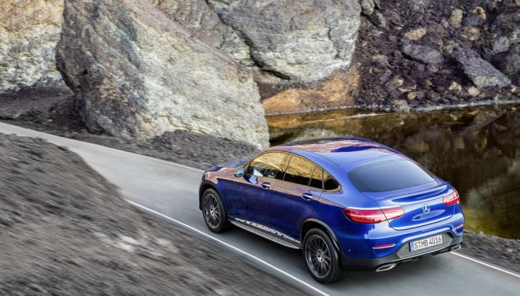 Mercedes GLC coupè debutta al salone di New York - Foto 13 di 22
