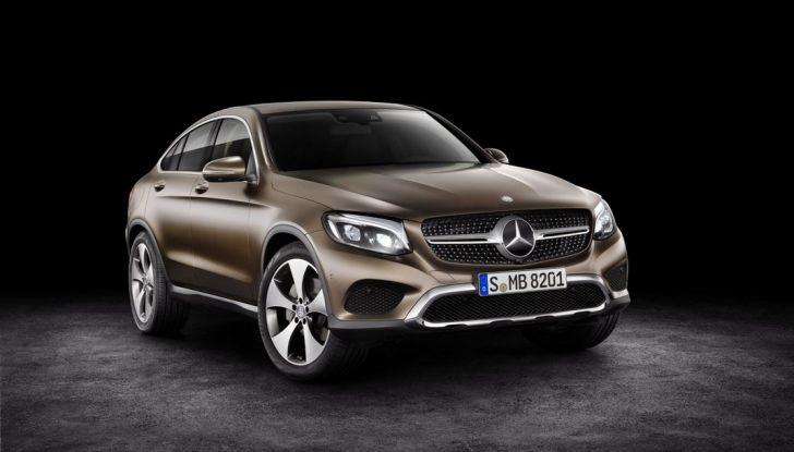 Mercedes GLC coupè debutta al salone di New York - Foto 18 di 22