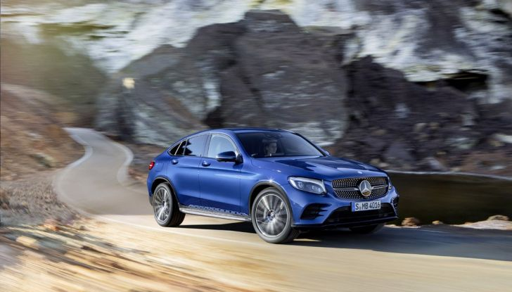 Mercedes GLC coupè debutta al salone di New York - Foto 4 di 22