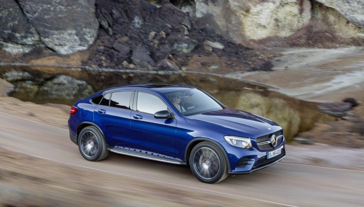 Mercedes GLC coupè debutta al salone di New York - Foto 5 di 22