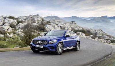 Mercedes GLC coupè debutta al salone di New York