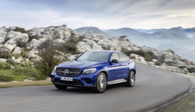 Mercedes GLC coupè debutta al salone di New York