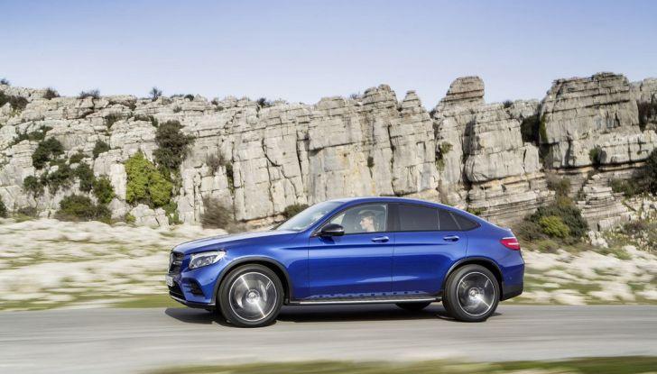 Mercedes GLC coupè debutta al salone di New York - Foto 7 di 22