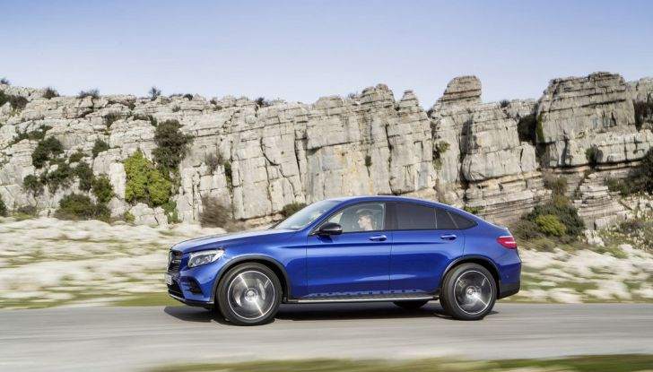 Mercedes GLC coupè debutta al salone di New York - Foto 7 di 22