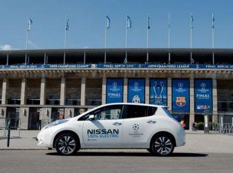 Finale UEFA Champions League: in campo anche 100 Nissan elettriche