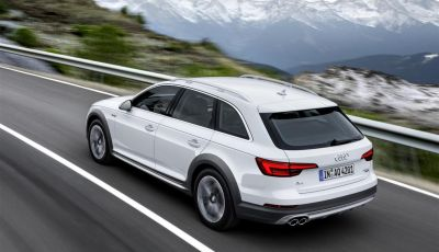 Nuova Audi A4 allroad quattro, listino prezzi Italia da 51.900 euro