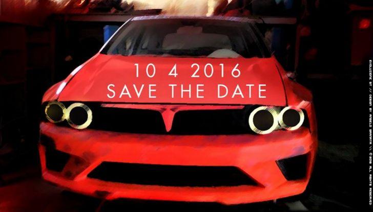 Nuova Lancia Delta HF Integrale, il Deltone presentato il 10 aprile - Foto 2 di 9