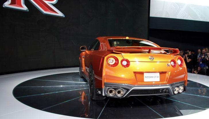 Nuova Nissan GT-R debutta al Salone di New York 2016 - Foto 10 di 10