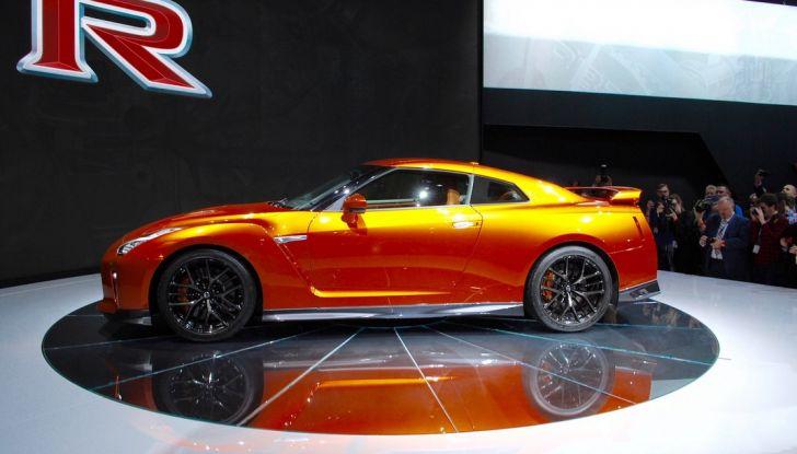 Nuova Nissan GT-R debutta al Salone di New York 2016 - Foto 7 di 10
