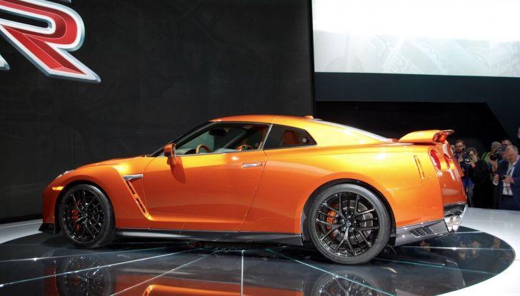 Nuova Nissan GT-R debutta al Salone di New York 2016 - Foto 8 di 10