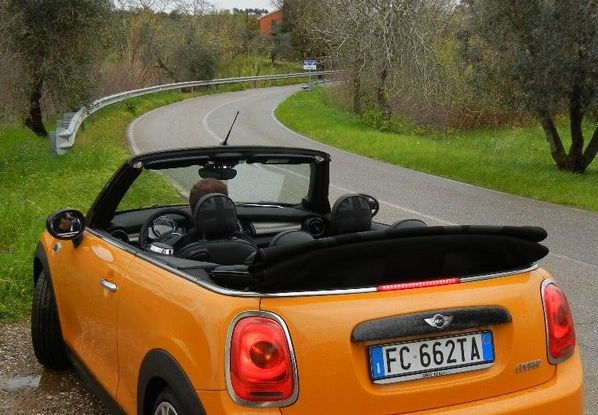 Nuova Mini Cabrio test drive