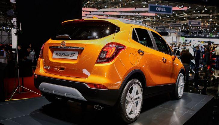 Opel Mokka X debutta con nuovo motore 1.4 a Ginevra - Foto 3 di 16