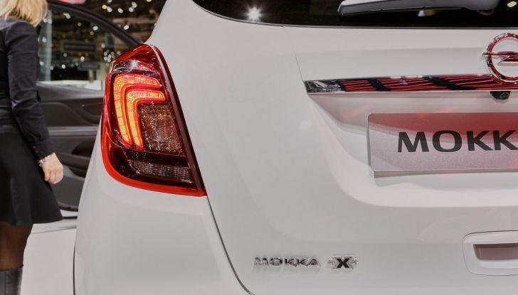 Opel Mokka X debutta con nuovo motore 1.4 a Ginevra - Foto 14 di 16